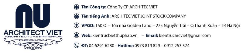 giới thiệu công ty architec việt