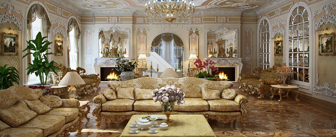 thiết kế nội thất cổ điển pháp