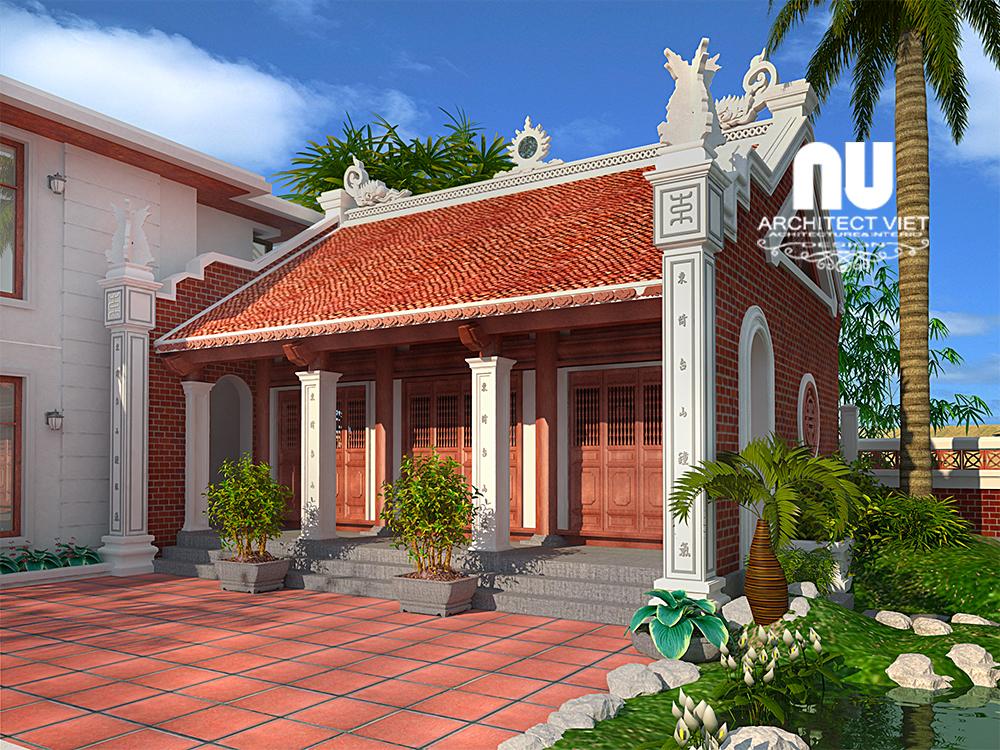 Thiết kế nhà thờ họ, nhà ở Ngọc Lâm Long Biên22