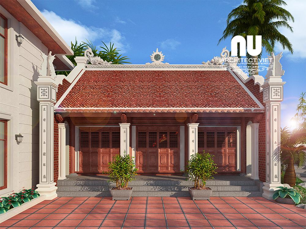 Thiết kế nhà thờ họ, nhà ở Ngọc Lâm Long Biên33