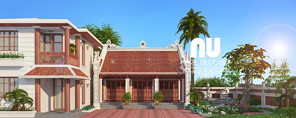 Thiết kế nhà thờ họ, nhà ở Ngọc Lâm Long Biên44