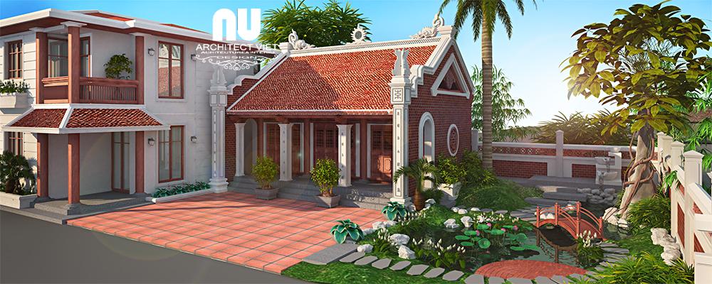 Thiết kế nhà thờ họ, nhà ở Ngọc Lâm Long Biên55