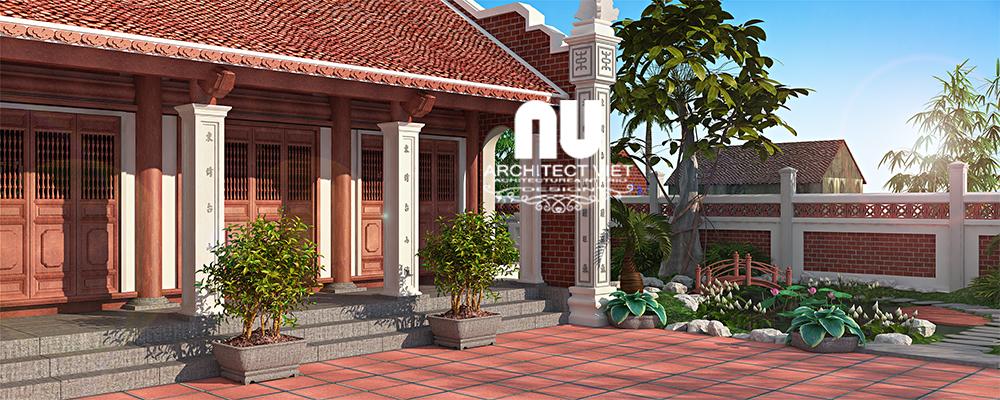 Thiết kế nhà thờ họ, nhà ở Ngọc Lâm Long Biên66