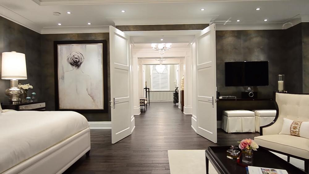 Thiết kế nội thất biệt thự hiện đại KĐT Ecopark với phòng ngủ đẹp