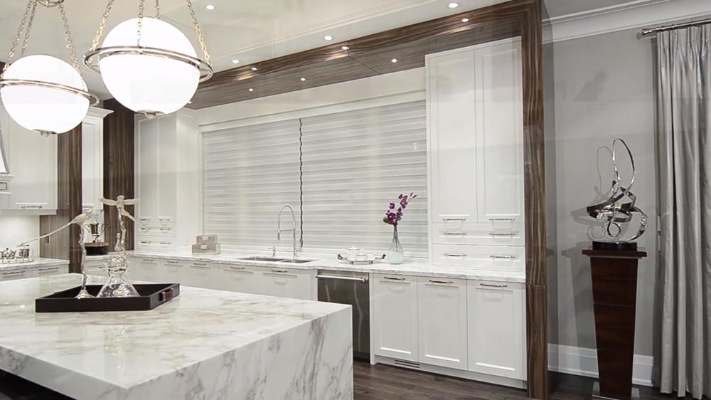 Thiết kế nội thất biệt thự hiện đại KĐT Ecopark với không gian bếp sang trọng