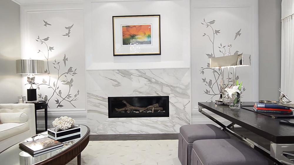 Thiết kế nội thất biệt thự hiện đại KĐT Ecopark với phòng khách đẹp