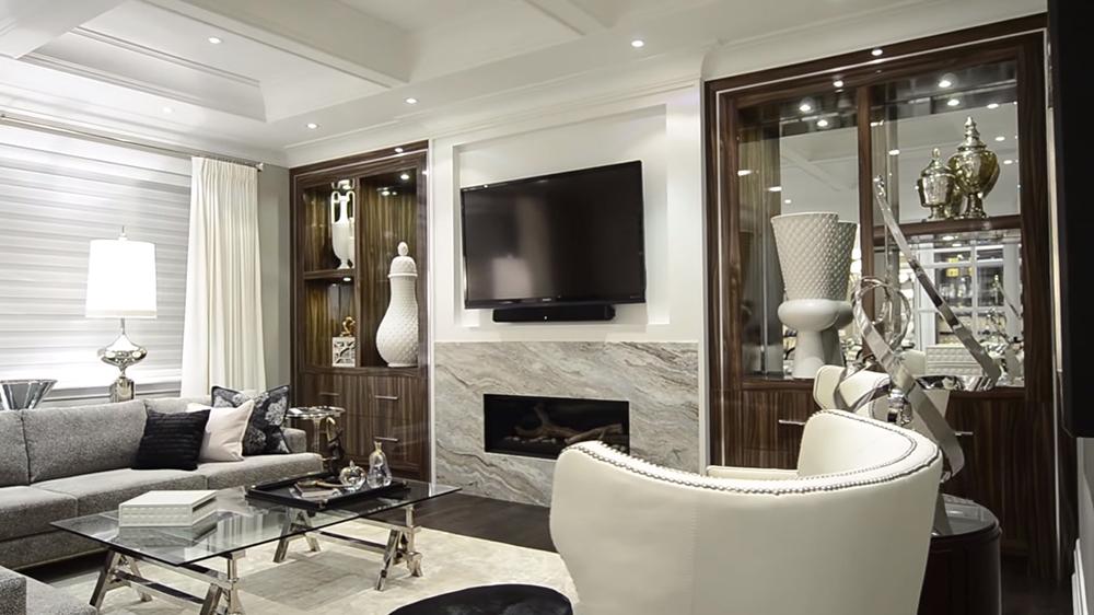 Thiết kế nội thất biệt thự hiện đại KĐT Ecopark với phòng khách đắt giá
