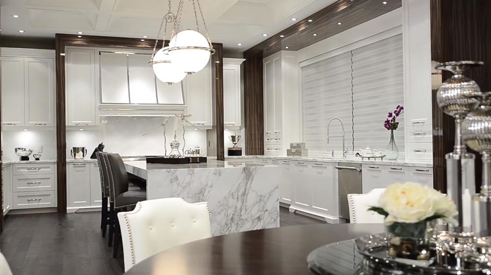 Thiết kế nội thất biệt thự hiện đại KĐT Ecopark với phòng bếp mở