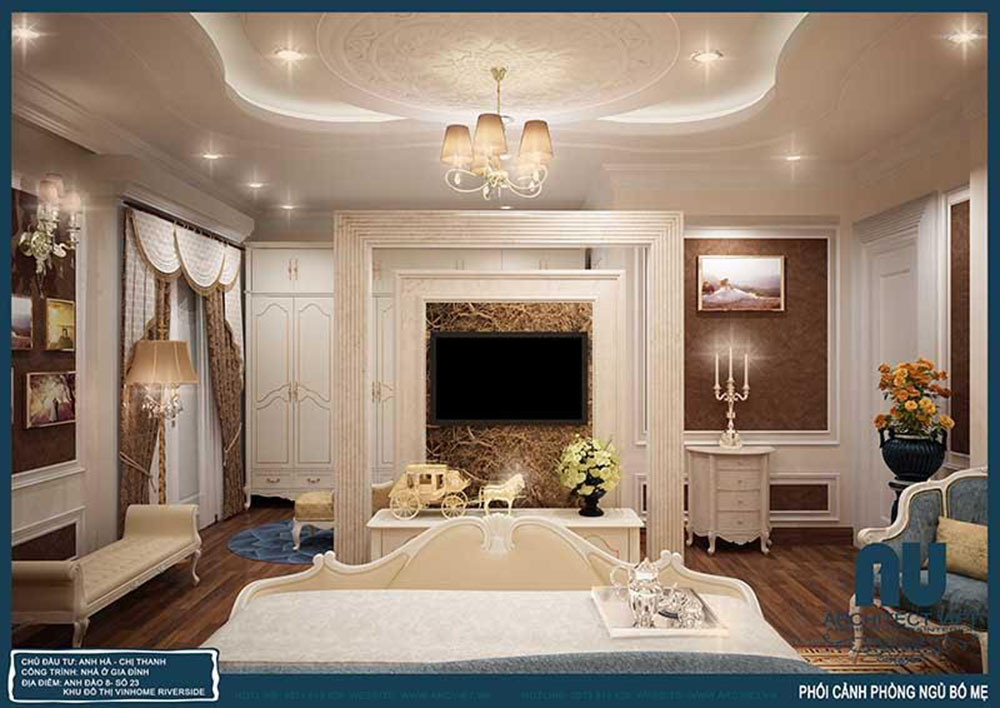 thiết kế nội thất phòng ngủ view3
