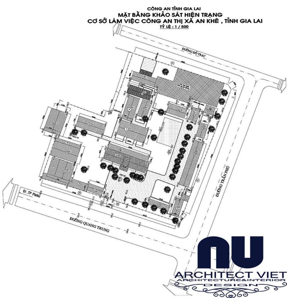 Quy hoạch kiến trúc cảnh quan Công an thị xã An Khê3