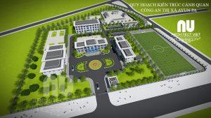 Quy hoạch kiến trúc cảnh quan trụ sở làm việc Công an thị xã Ayun Pa5