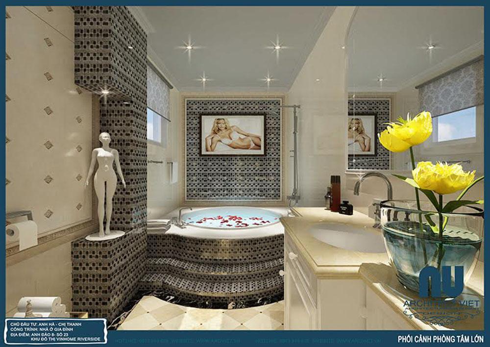 thiết kế nội thất phòng tắm view 1