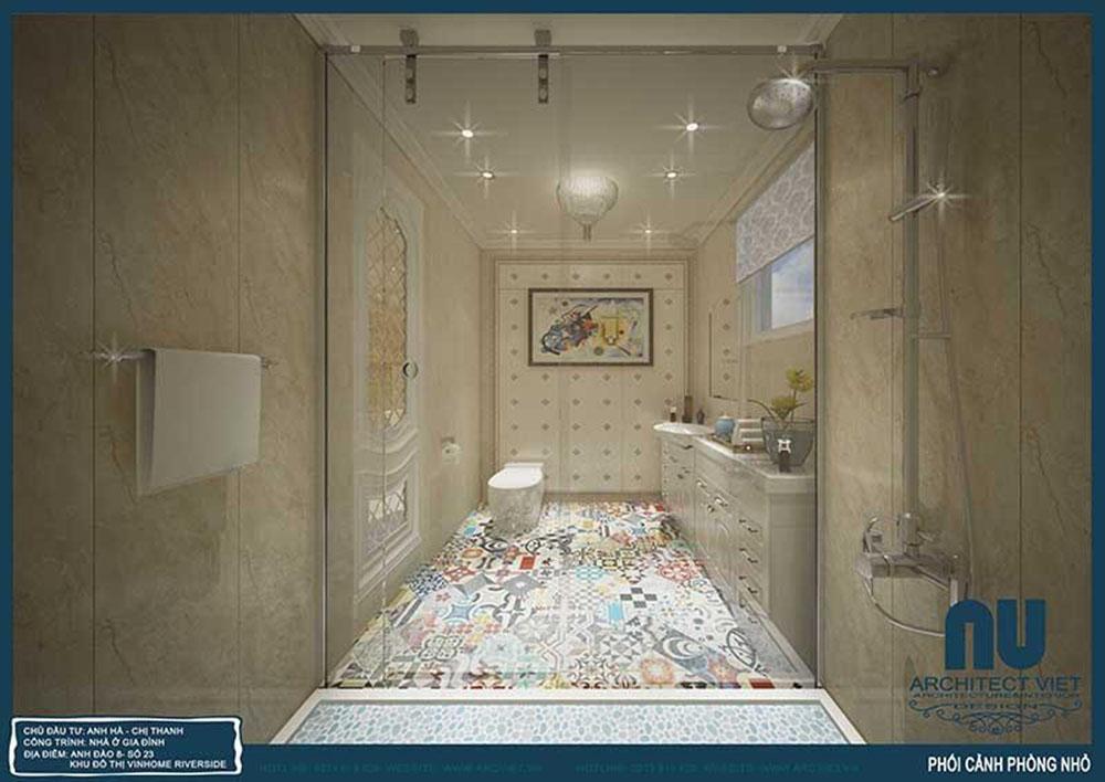 thiết kế nội thất phòng tắm view 3
