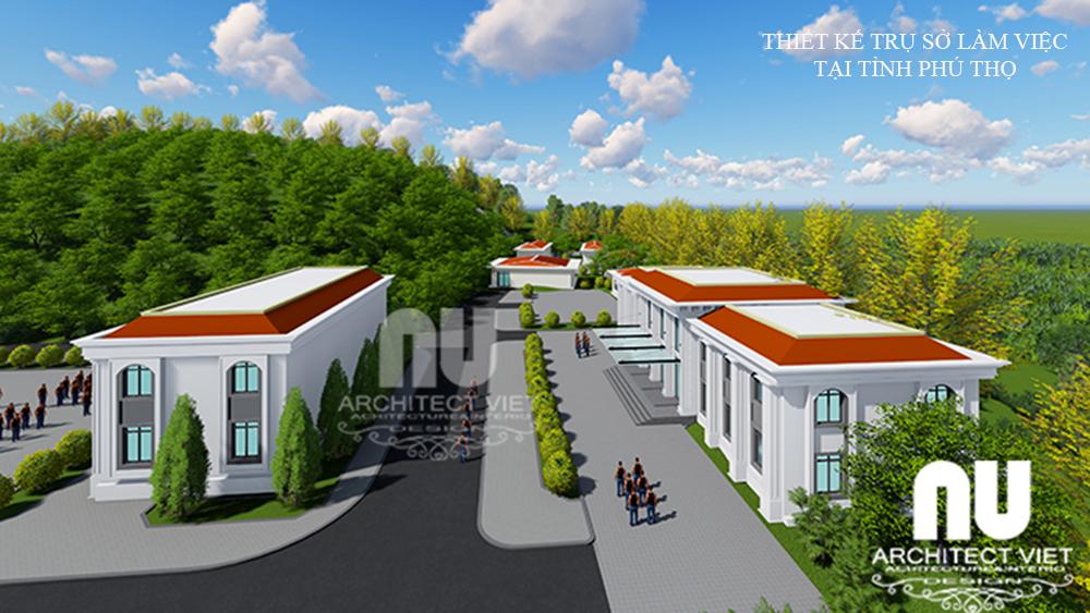 Thiết kế trụ sở văn phòng làm việc tại tỉnh Phú Thọ2