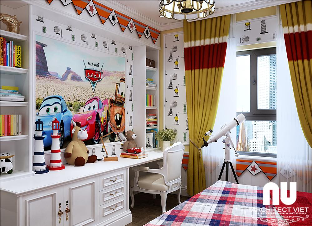 phòng ngủ kute dành cho trẻ