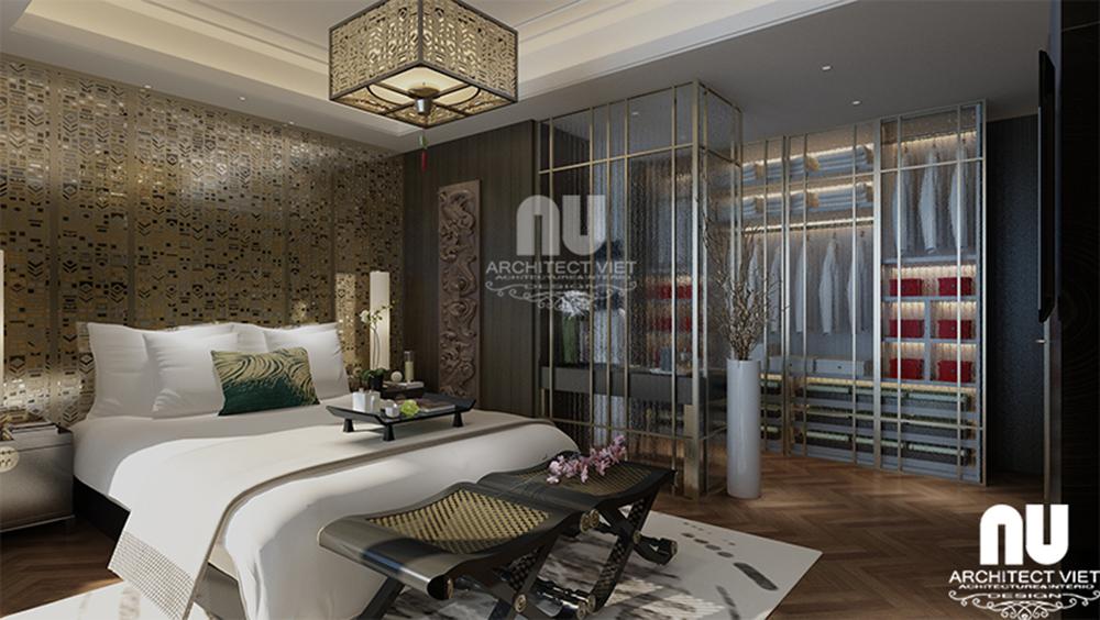 Thiết kế nội thất chung cư tân cổ điển Golden Land2