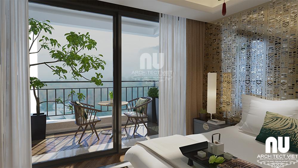 Thiết kế nội thất chung cư tân cổ điển Golden Land3