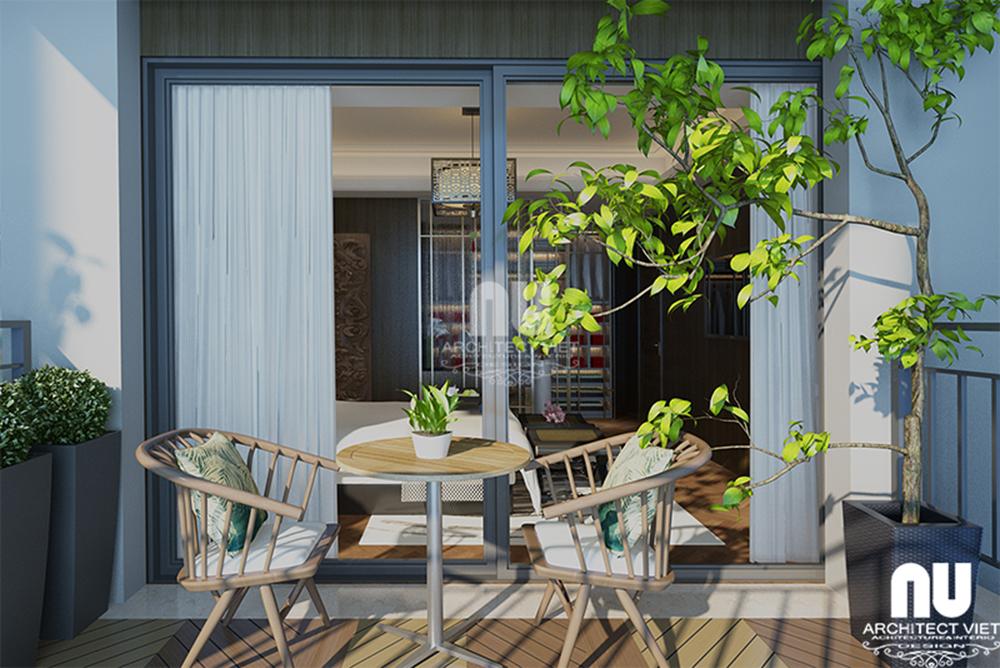Thiết kế nội thất chung cư tân cổ điển Golden Land4