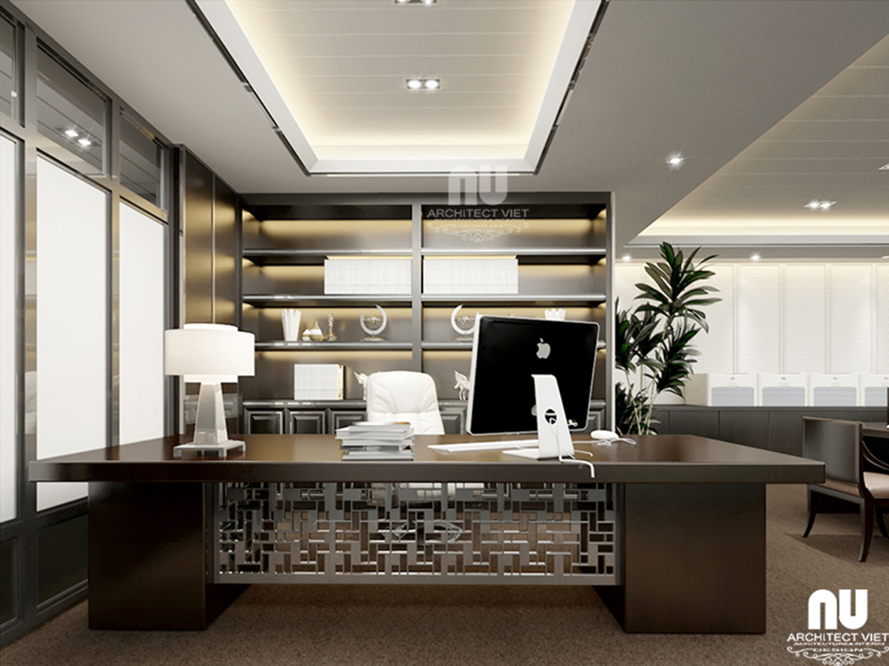 Thiết kế nội thất văn phòng công ty Việt Âu
