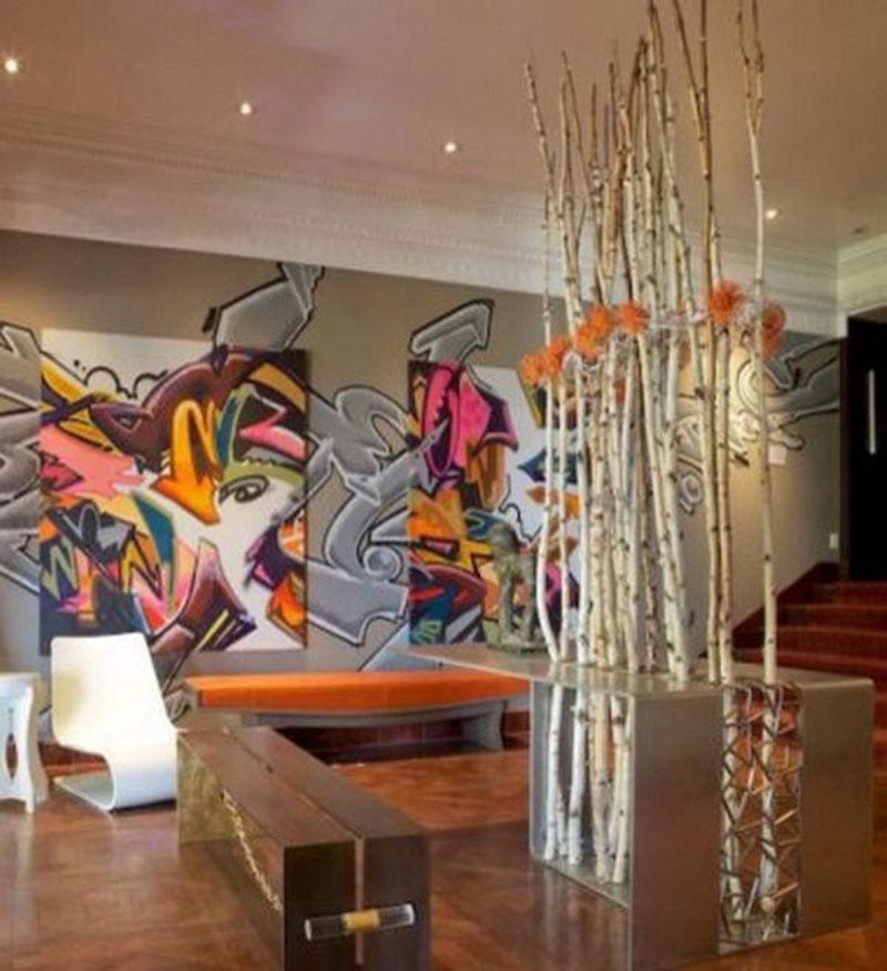 Trang trí tường bằng wall painting