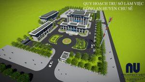 Quy hoạch trụ sở làm việc công an huyện Chư Sê10