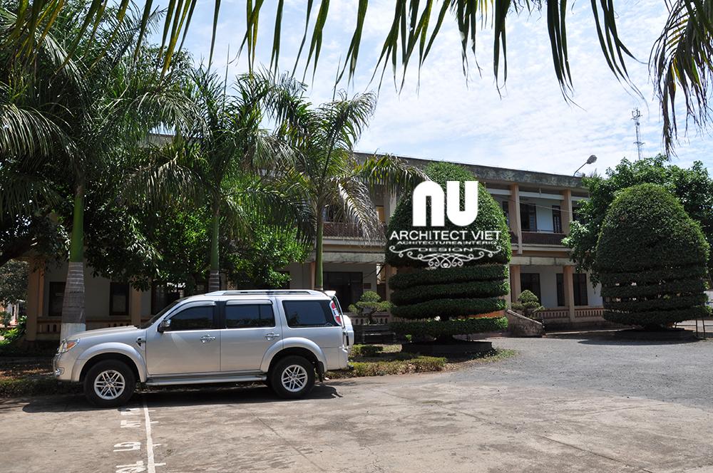 Quy hoạch trụ sở làm việc công an huyện Chư Sê3
