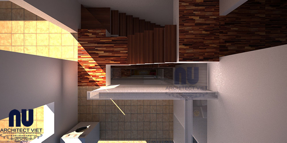 Mẫu thiết kế nhà lệch tầng khu đô thị Đại Thanh 05