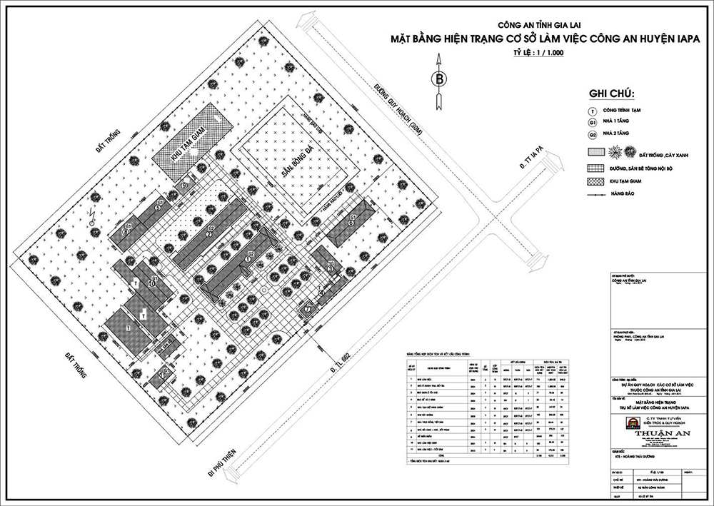 Quy hoạch trụ sở làm việc Công an huyện Iapa2