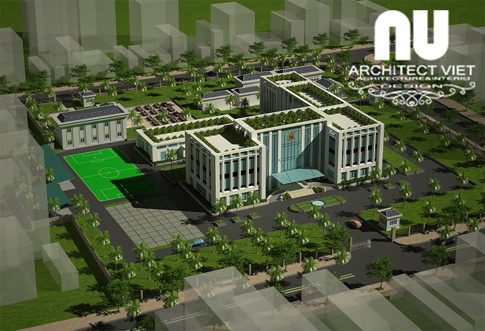 Quy hoạch trụ sở làm việc Công An thị xã An Khê2