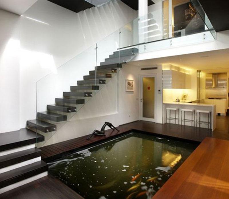 Giếng trời trong nhà theo phong thủy