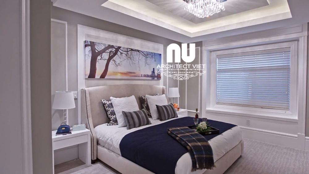 Thiết kế nội thất biệt thự 300m2 Vinhomes Green Bay - nội thất đơn giản