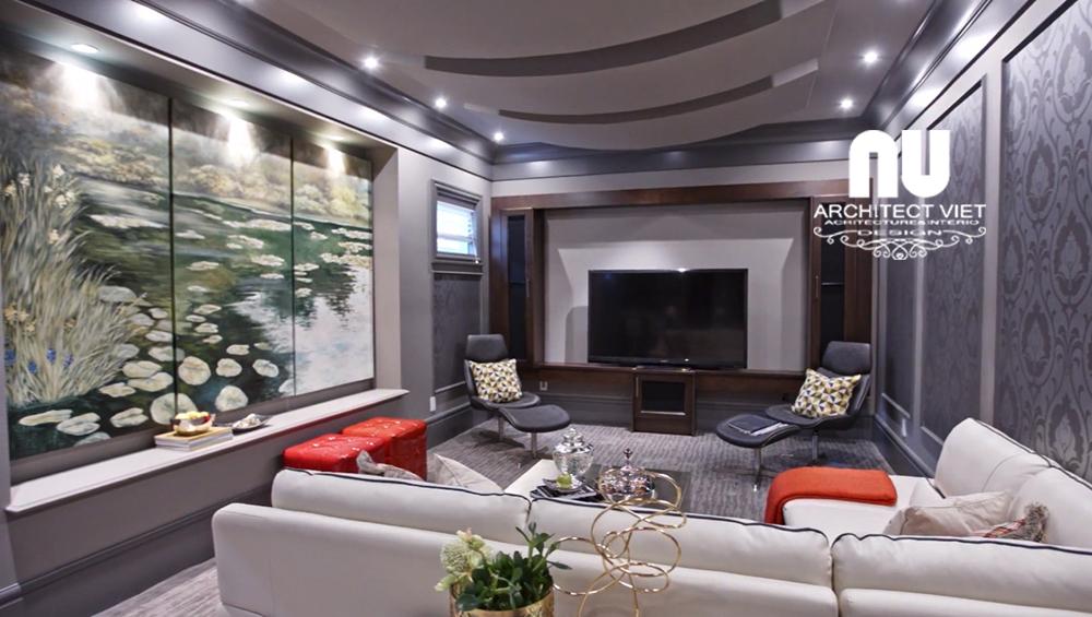 Thiết kế nội thất biệt thự 300m2 Vinhomes Green Bay7