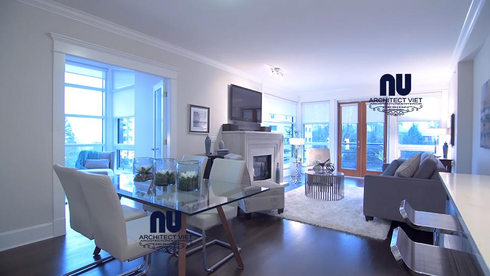 Thiết kế nội thất căn hộ Penthouse Golden Land phong cách Bắc Âu1