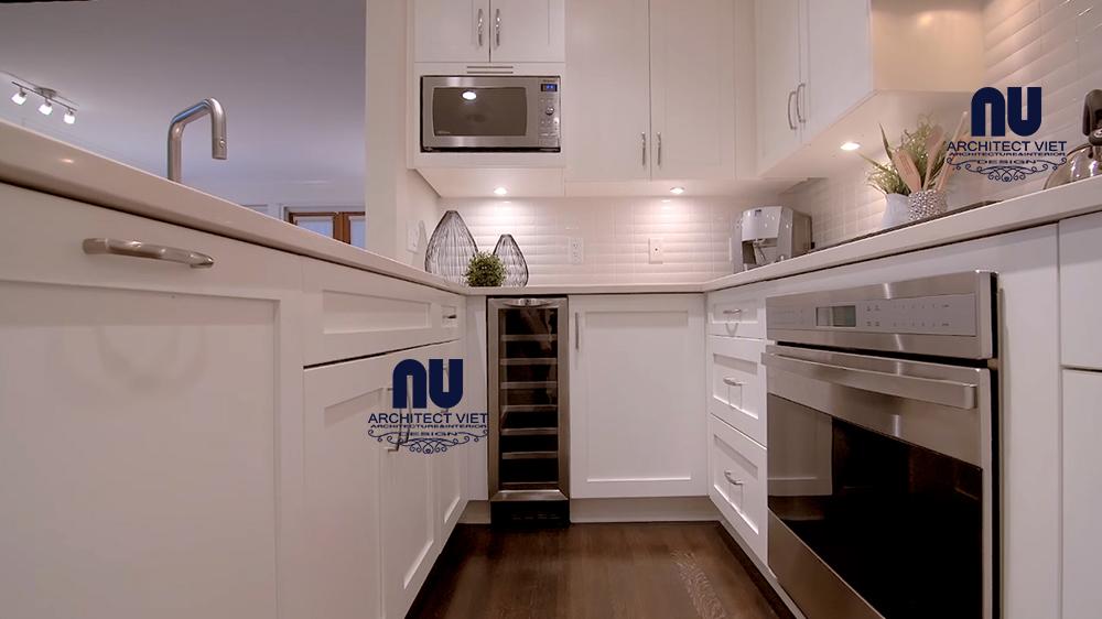 nội thất hiện đại trong căn hộ penthouse