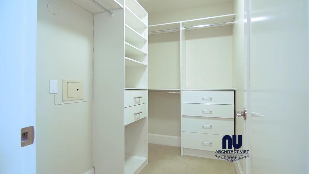 lựa chọn tủ quần áo nhiều ngăn