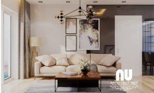 Thiết kế nội thất chung cư Goldmark 2 phòng ngủ 92m2 phong cách Bắc Âu30