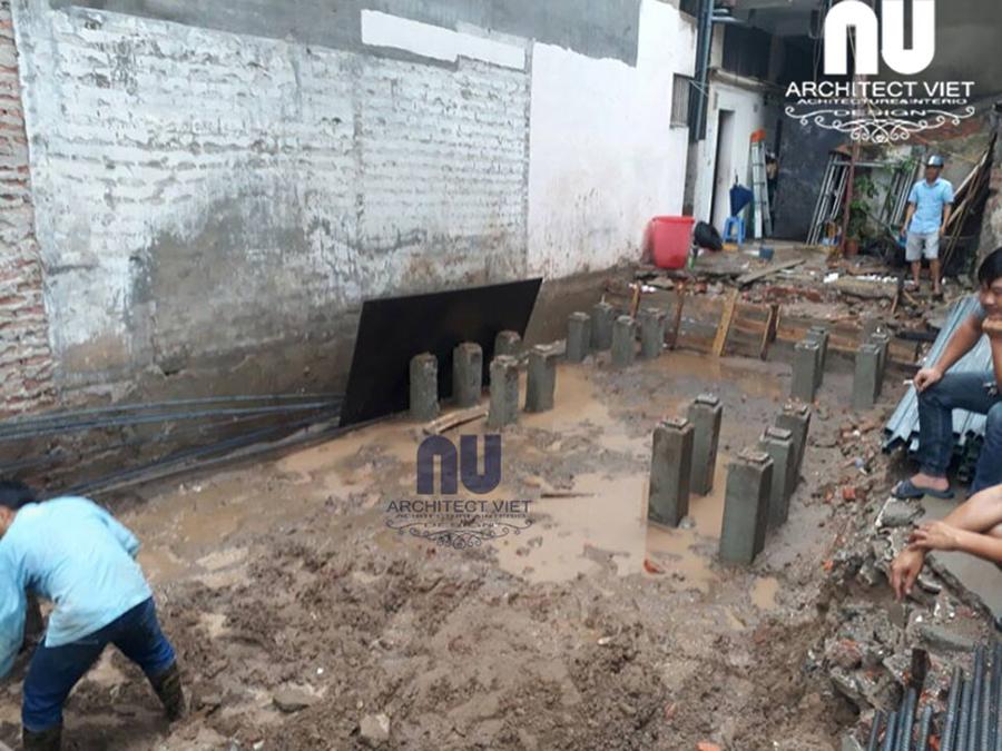Thi công xây dựng nhà ống, nhà phố, nhà dân8