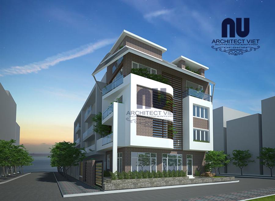 Thiết kế nhà ở 5 tầng đẹp 7x12m1