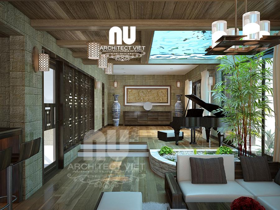 thiết kế nội thất nhà phố hiện đại 5 tầng 78m2 tại Cầu Giấy – với không gian sang trọng