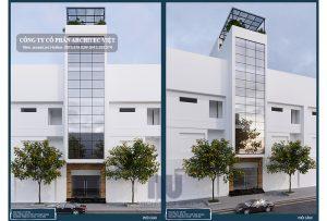 Mẫu thiết kế nhà ở kết hợp kinh doanh 3,9×16,5m