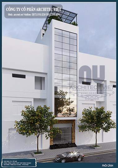 Thiết kế nhà phố 5 tầng 4x17m theo nhu cầu của gia chủ