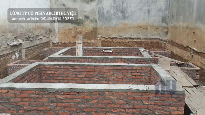 Quá trình thi công mẫu nhà ở 6 tầng kết hợp kinh doanh 8×14,5m
