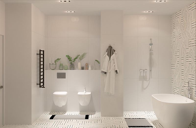 nội thất phòng tắm hiện đại sang trọng