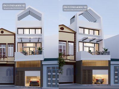 Cải tạo ngôi nhà 3 tầng