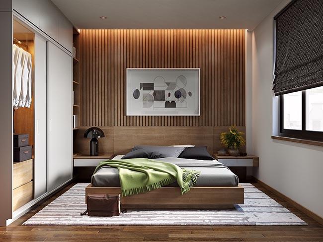 Phòng ngủ của con gái với nội thất sang trọng