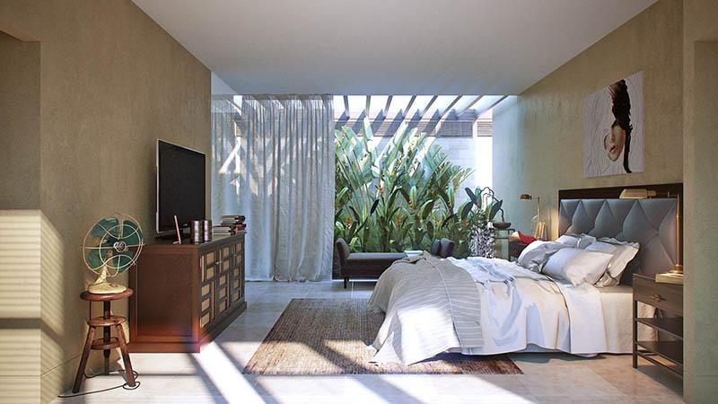 Phòng ngủ của con với gam màu trẻ trung