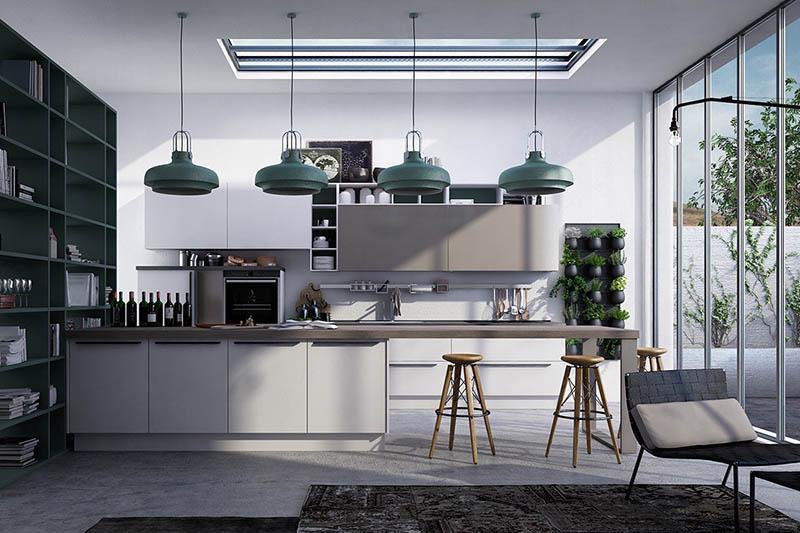 Thiết kế không gian bếp hiện đại