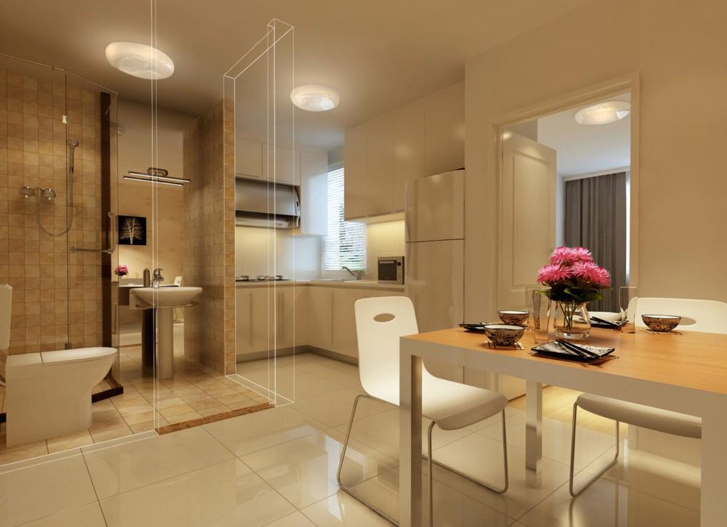 Phòng bếp gọn gàng sạch sẽ của mẫu nhà phố 5 tầng tân cổ điển