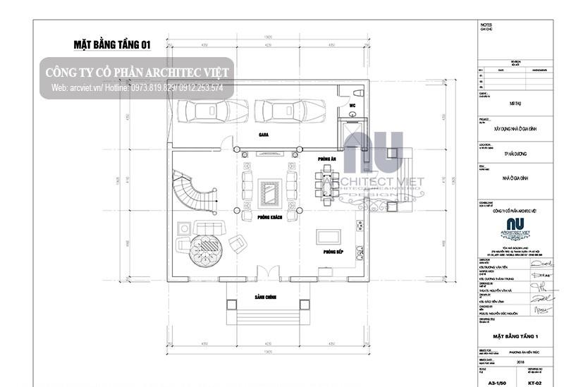 biệt thự 4 tầng tân cổ điển 170m2