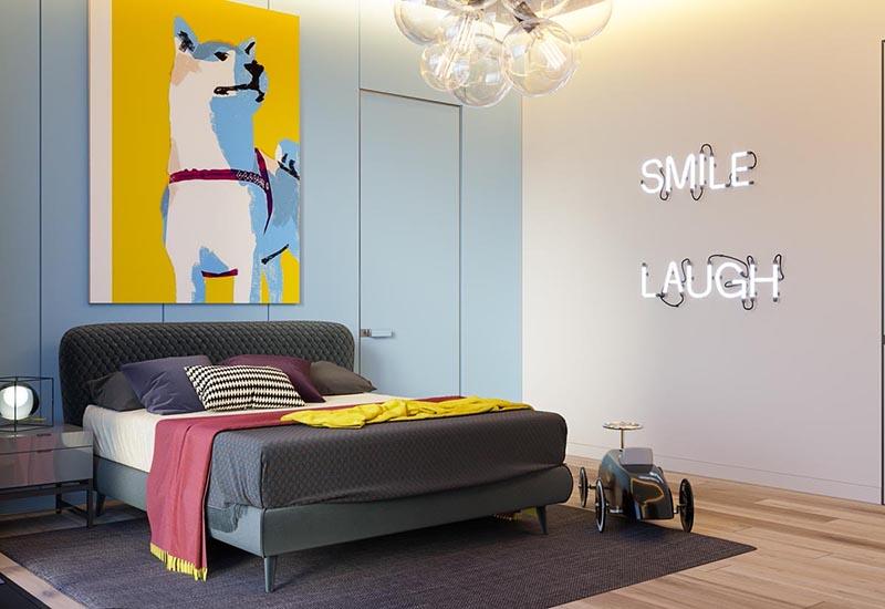 Nội thất phòng ngủ đầy đủ tiện nghi cho bé
